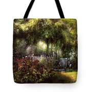 Summer - Landscape - Eve's Garden Tote Bag by Mike Savad