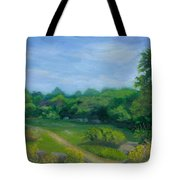Summer Afternoon At Ashlawn Farm Tote Bag