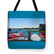 Summer Afternoon Boating Tote Bag