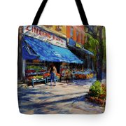 Summer Afternoon, Columbus Avenue Tote Bag