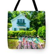 Summer Afternoon In The Hamptons Tote Bag