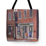 Summer Afternoon On M Street Tote Bag