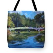 Summer Afternoon On The Lake, Central Park Tote Bag
