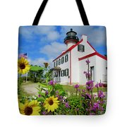 Summer At East Point Light Tote Bag