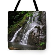 Summer At Glen Moss Falls Tote Bag