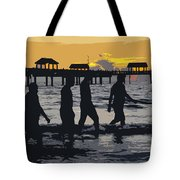 Summer At The Beach Tote Bag