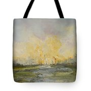 Summer At The City Tote Bag