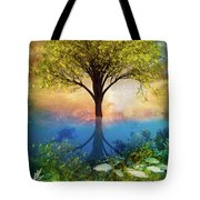 Summer At The Reef Tote Bag