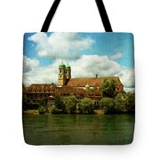 Summer. At The Resort In Bad Saeckingen. Germany. Tote Bag