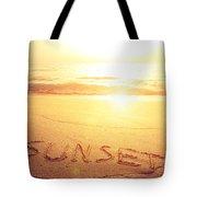 Summer Background Tote Bag