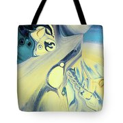 Summer Beach Abstract Tote Bag
