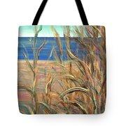 Summer Beach Grasses Tote Bag