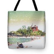 Summer Beach Sunshine Tote Bag
