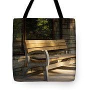 Summer Bench Tote Bag