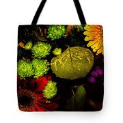 Summer Boquet Tote Bag