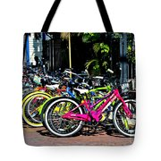 Summer Bright Pedals Tote Bag