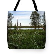 Summer By The Lake Enajarvi Tote Bag