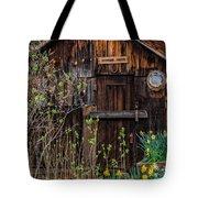 Summer Cabin Tote Bag