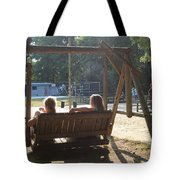 Summer Camp Downtime Tote Bag