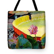 Summer Colors On The Pond Tote Bag