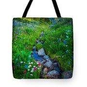 Summer Creek Tote Bag