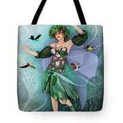 Summer Dance Tote Bag