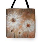 Summer Dandelions Tote Bag