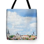 Summer Day In Tallinn Tote Bag