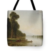 Summer Day On Conesus Lake, 1870 Tote Bag