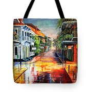 Summer Day On Royal Street Tote Bag