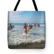 Summer Days Byron Waves Tote Bag