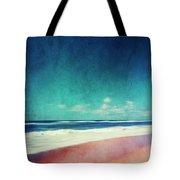 Summer Days IIi - Abstract Beach Scene Tote Bag