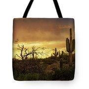 Summer Desert Skies  Tote Bag