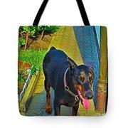 Summer Dog Day Tote Bag