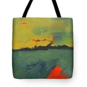Summer Eve Bayside Tote Bag
