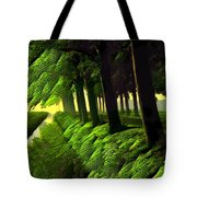 Summer Evening Streaming Tote Bag