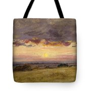 Summer Evening With Storm Clouds Tote Bag