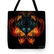 10644 - Summer Fire Mask 44 - The Battle Imp Tote Bag