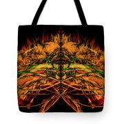10657 Summer Fire Mask 57 - The Fire Bug Tote Bag