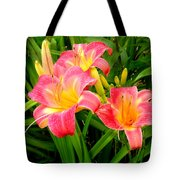 Summer Flame Tote Bag