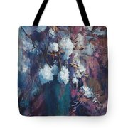 Vase Of Cotton Tote Bag