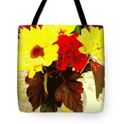 Summer Flowers Yellow Daisies Tote Bag