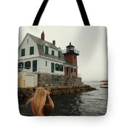 Summer Fog Tote Bag