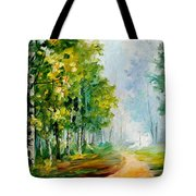 Summer Forest Tote Bag