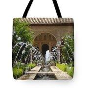 Summer Fountain Tote Bag