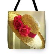 Summer Hat Tote Bag