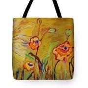 Summer Hibiscus Flower Tote Bag