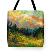 Summer High Country Tote Bag