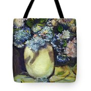 Summer Hydrangea Tote Bag