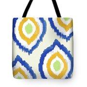 Summer Ikat- Art By Linda Woods Tote Bag